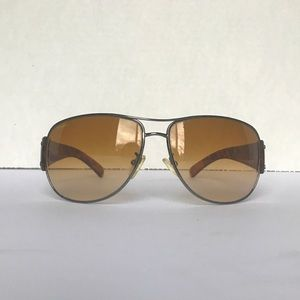 Prada SPR52G Brown Gradient Piolet Sunglasses